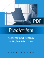 Plagiarism_ Alchemy and Remedy in Higher Education ( PDFDrive.com )
