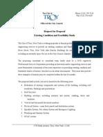 Dauchy Feasibility RFP