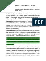 EJECUCIÓN DE LA SENTENCIA LABORAL.docx