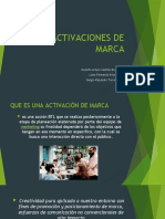 ACTIVACIONES DE MARCA