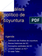 Analisis Coyuntura