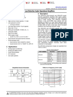 OPA1678  Low-Distortion Audio Operational Amplifiers