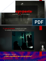 PPT N°3 - Creepypasta - relatos de terror en la era digital