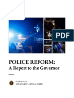 1022 Police Reform a Report to the Governor 1.2