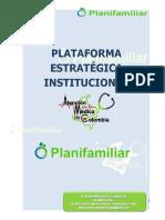 PLataforma Estratégica IPS AMECOL PLANIFAMILIAR 2020