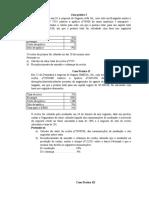 Manual de exercícios de Cotabilidade de Seguros