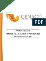 Informe Ejecutivo MBP v2020 02 28