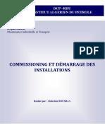 Cour Commissioning et demarrage des installations petrolieres.pdf