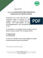 EDITAL DE abertura de inscrição para CIPA.doc