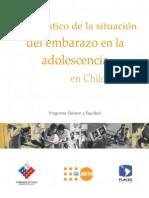 Diagnóstico sobre el embarazo precoz en Chile