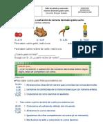 Taller de adición y sustracción de números decimales grado cuarto.docx