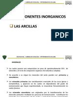 CONFERENCIA 2 componentes inorganicos y arcillas