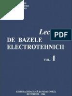 Bazele electrotehnicii vol.1