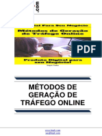 Metodos de Geracao de Trafego Online