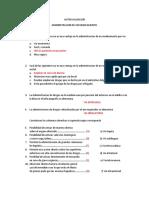 AUTOEVALUACION VIAS DE ADMINISTRACION