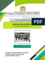 EDUCACIÓN ARTÍSTICA, PRIMERO  Prof. Samuel Caal