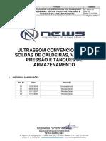 PROCEDIMENTO CONVENCIONAL NEWS INSPEÇÃO (VASO, CAL. TQ, E DUTOS)