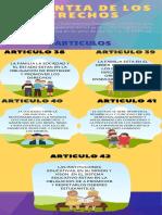 infografia de las garantias de los niños