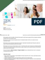 strategy consultant ibm job desc