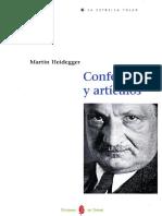 Heidegger Conferencias y articulos
