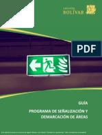 Guía señalización y demarcación.