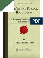 The Vishnu Purana Book 4 of 6 - 9781605066608
