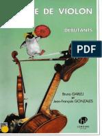 Método de violín para pequeños en francés