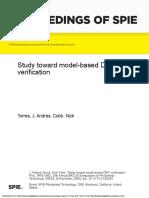 Study toward model-based DRC verification.pdf