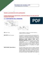Entrenamiento detallado Basico Usuario AU400e
