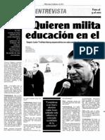 Entrevista León - Prensa Chalaca