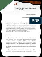 A PRESENÇA DA LITERATURA NO VOLUME 1 DA COLEÇÃO sintesis