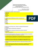 1.- Parcial primer corte - Formulación y Evaluación - Grupo 2.xlsx