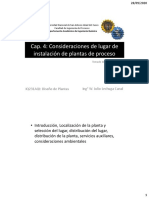 4 Instalación de plantas de proceso