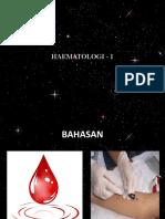 1. Pengantar Hematologi