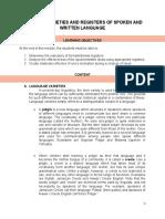 MODULE-4-VARIETIES-AND-REGISTERS-OF-SPOKEN-AND