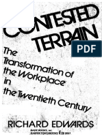 Richards Edwards - Contested Terrain - The Transformation of the Workplace in the 20thCentury