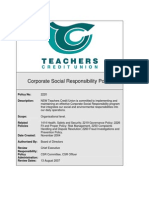 Corporate Social Responsibility Policy