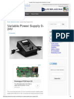 Variable Power Supply 0-24V _ Electronic Circuits
