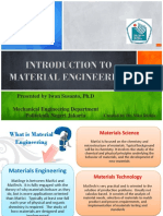 (1a). INTRODUCTION TO MATERIAL ENGINEERING