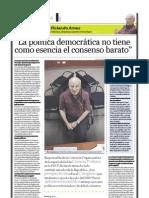 Rolando Ames (politólogo, abogado y magíster en Sociología), PuntoEdu. 10/04/2006