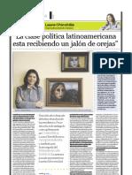 Laura Chinchilla (vicepresidenta electa de Costa Rica), PuntoEdu. 24/04/2006
