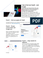 Cum să faci un Cont Gmail