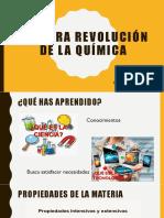 PRIMERA REVOLUCIÓN DE LA QUÍMICA