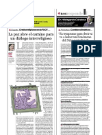 Dr. Hildegardo Córdova (Director ejecutivo e investigador del Centro de Investigación en Geografía Aplicada - CIGA), PuntoEdu. 21/08/2006