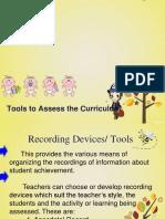 toolstoassessthecurriculum-130619194231-phpapp01