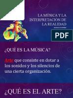 La musica y la interpretacion de la realidad