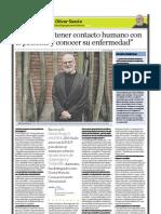 Oliver Sacks (neurólogo y escritor británico), PuntoEdu. 26/06/2006