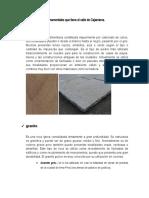 SEGUNDO CUESTIONARIO DE LA ASIGNATURA DE GEOLOGIA APLICADA
