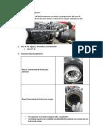 Evaluación del turbo compresor