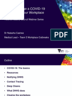 How to Manage a COVID 19 Outbreak in Your Workplace